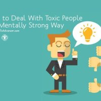 How to Deal with Toxic People in a Mentally Strong Way