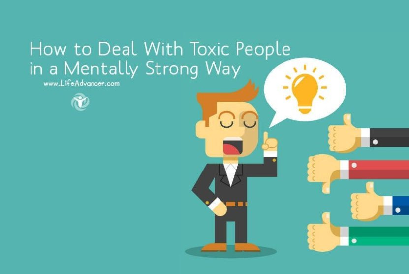 how to deal with toxic people 2