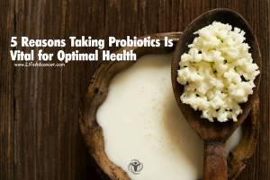 taking probiotics