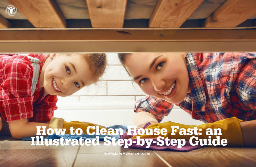 How to Clean House Fast