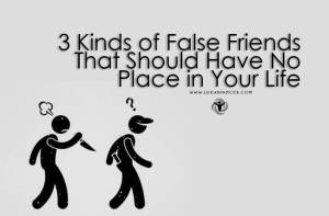 Kinds of False Friends 2