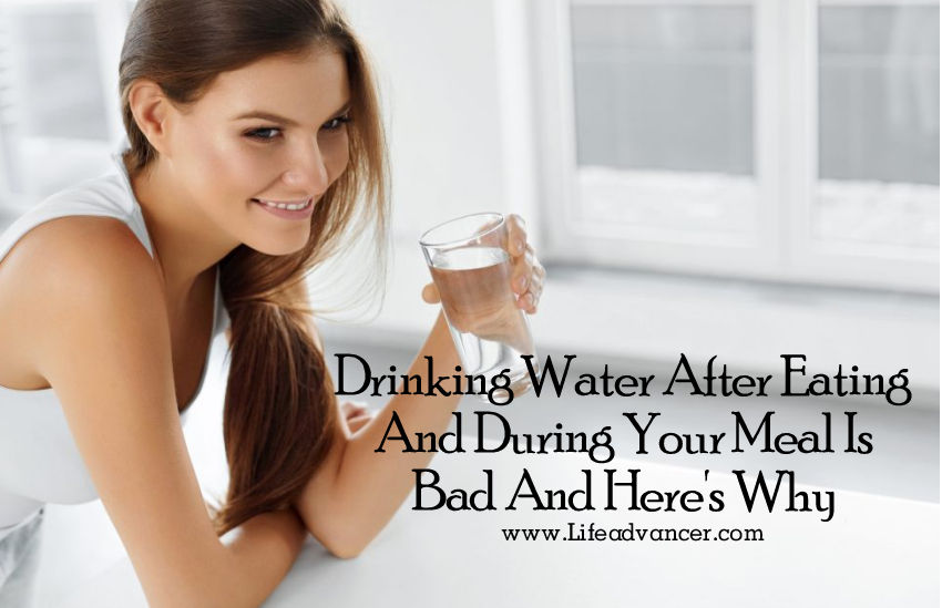 Is Drinking Water During Meals Bad