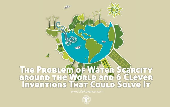 Problem of Water Scarcity
