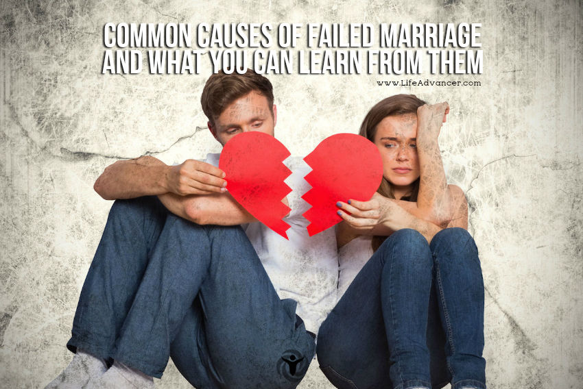Causes Of Failed Marriage