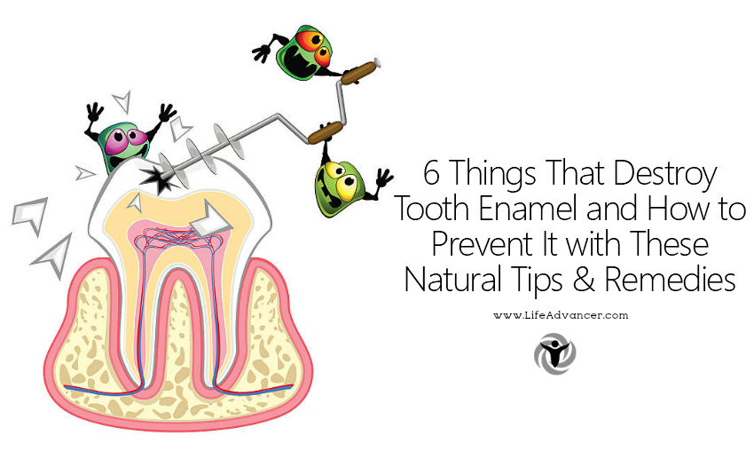 Things That Destroy Tooth Enamel