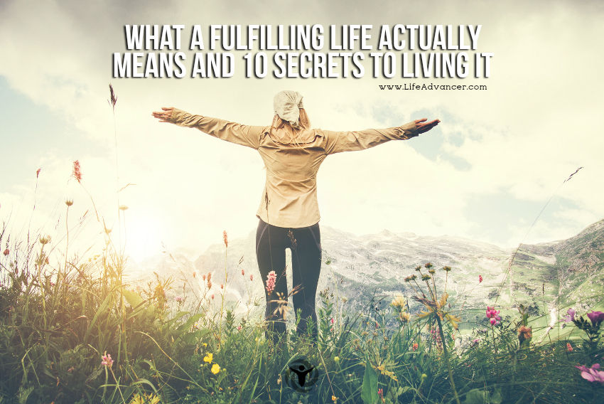What A Fulfilling Life Actually Means