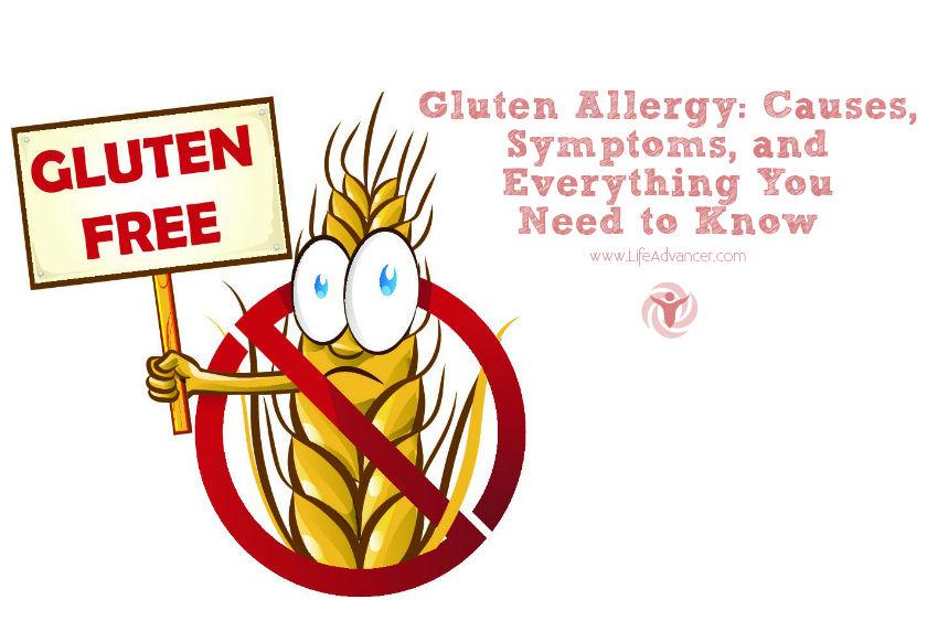 Gluten Allergy Causes Symptoms