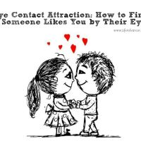 Eye Contact Attraction: How to Find If Someone Likes You by Their Eyes