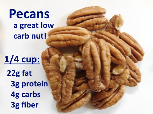 low-carb pecans