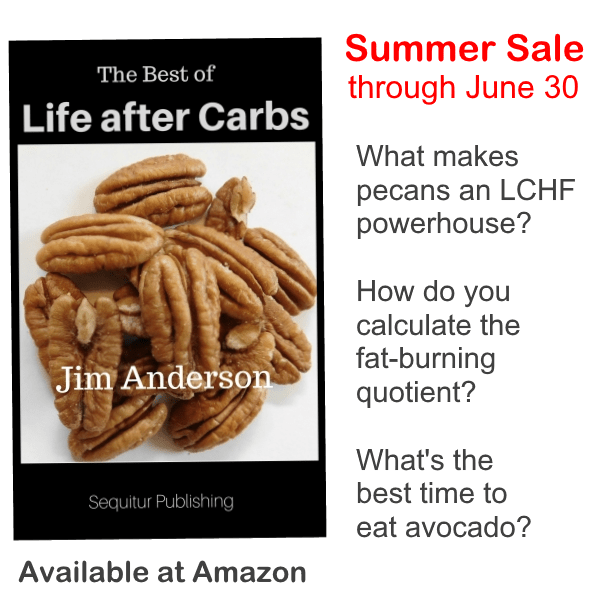 Book poster: The Best of Life after Carbs