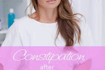 Constipation after hysterectomy – Struggling with the first stool?