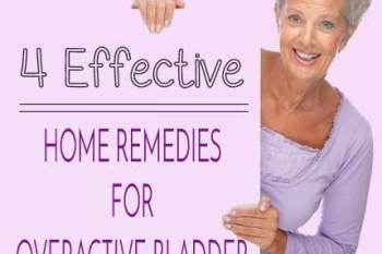 4 Effective Home Remedies for Overactive Bladder