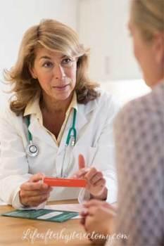 hysterectomy preparation
