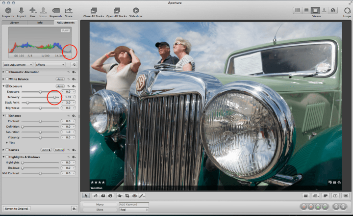 Aperture and plug-ins