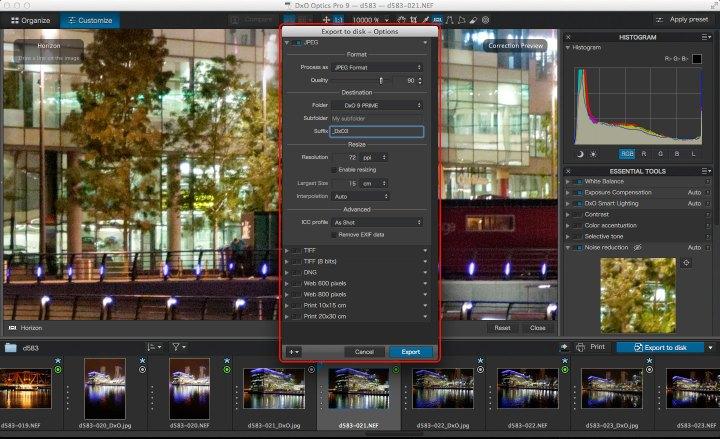 DxO Optics Pro 9 PRIME