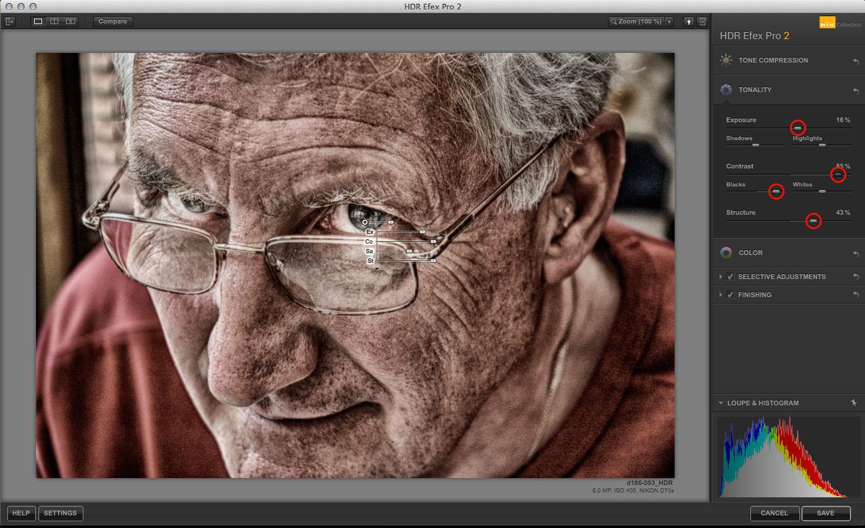HDR Efex Pro portraits
