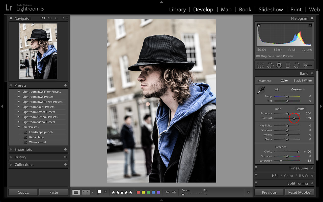 Lightroom portrait tips