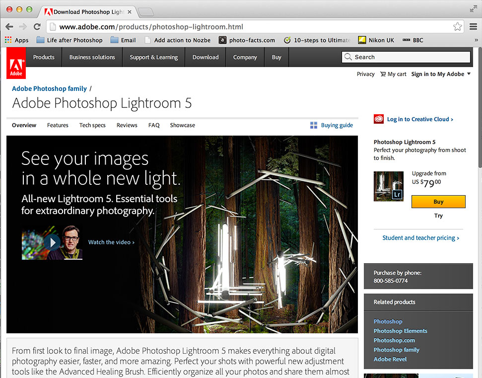 Lightroom 5.3 review