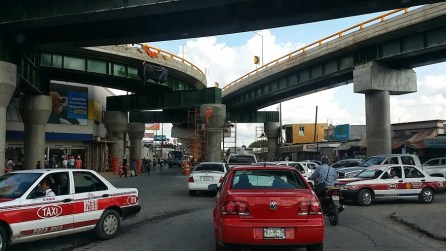 We have watched the flyovers being built for the last 2 years. Should help traffic flow a lot!
