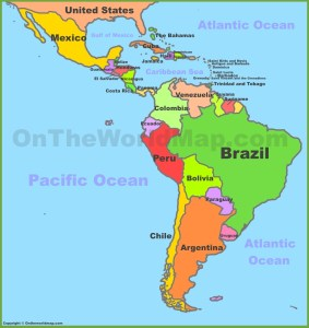 map-of-central-and-south-america