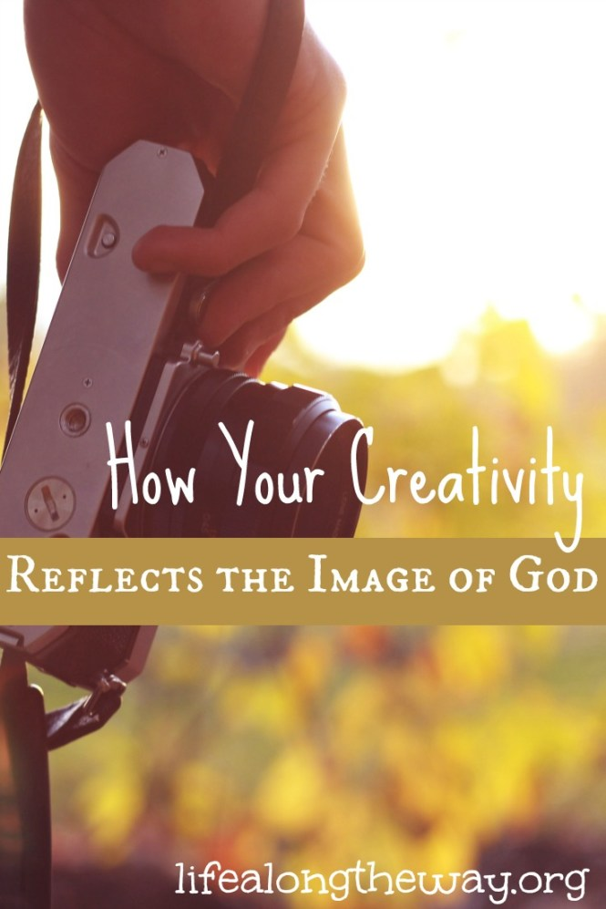how your creativity reflects the image of God