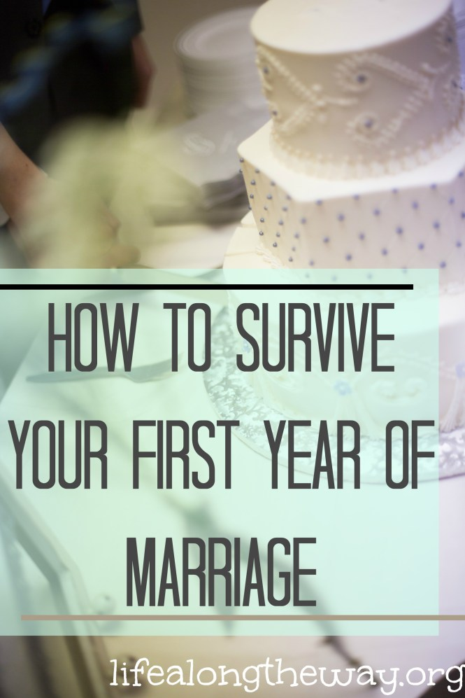 how to survive your first year of marriage