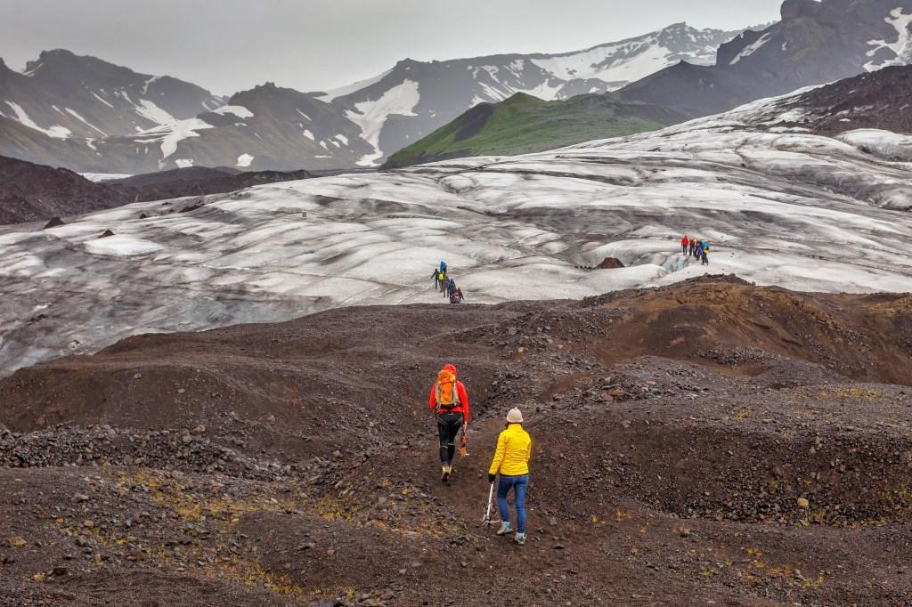 Glacier walk tour