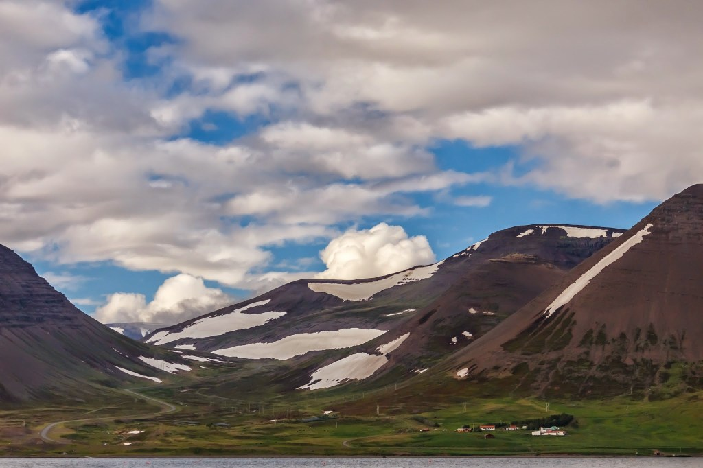 On our way to Þingeyri