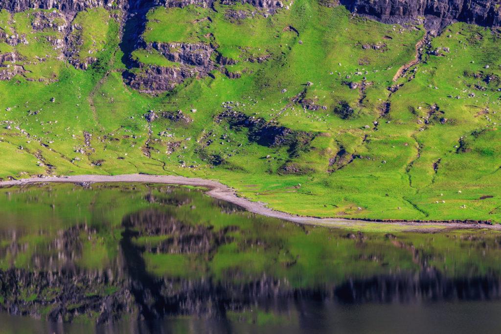 The Shore of lake Leitisvatn