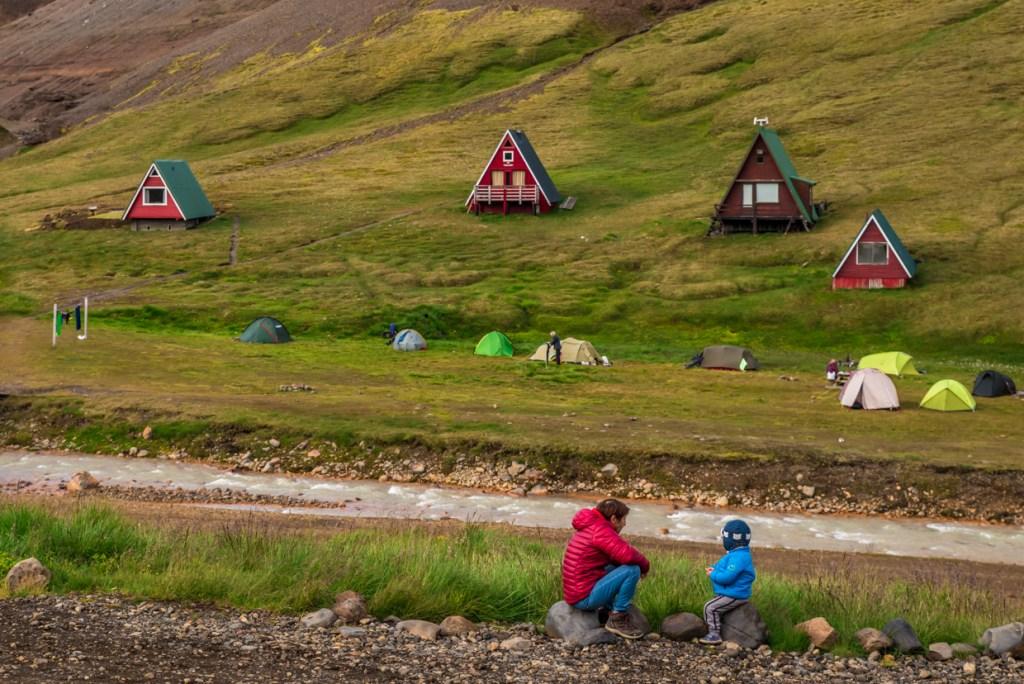 Campsite at Kerlingarfjöll