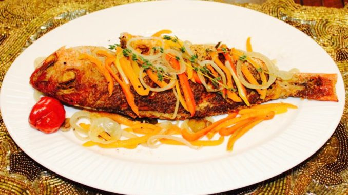 Jamaican escovitch fish life and flavors food blog for Jamaican steam fish