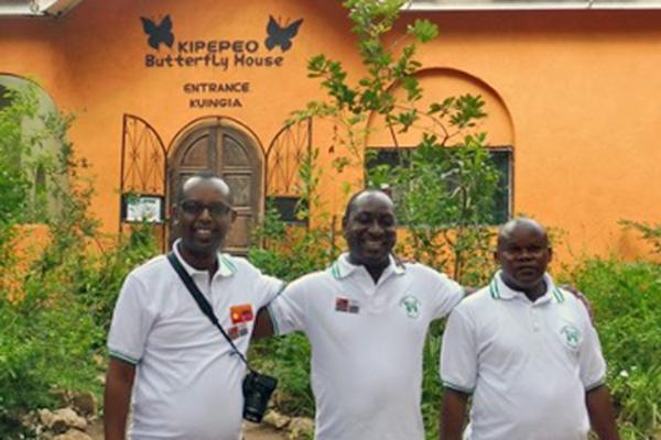 Kenyan butterfly breeders