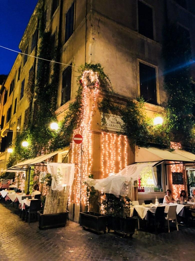 Travel Diary | Cozy Restaurants in Rome, Italy