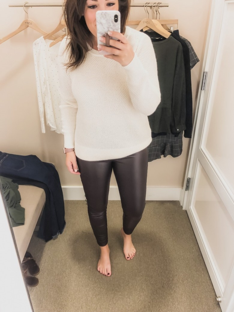 LOFT FALL + WINTER TRY ON SESSION