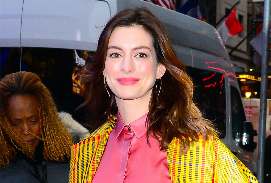Anne Hathaway Rocks Stylish Outfits in NYC: See Pics!