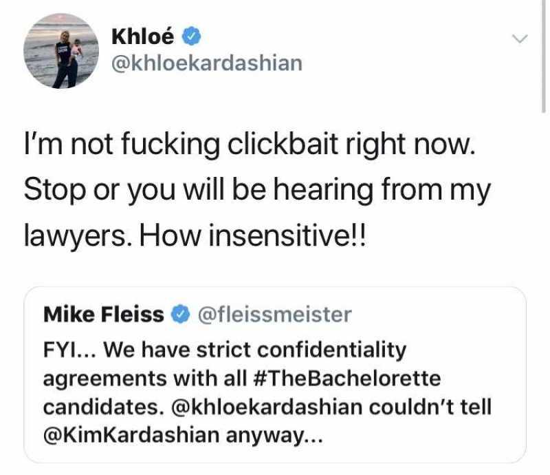 khloe kardashian mike fleiss twitter