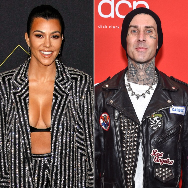 Are Kourtney Kardashian, Travis Barker Dating? They Spark ...