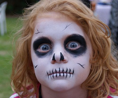 5 Cool and Scary Halloween Makeup Ideas to Make You Stand out. #4 Is the Scariest!
