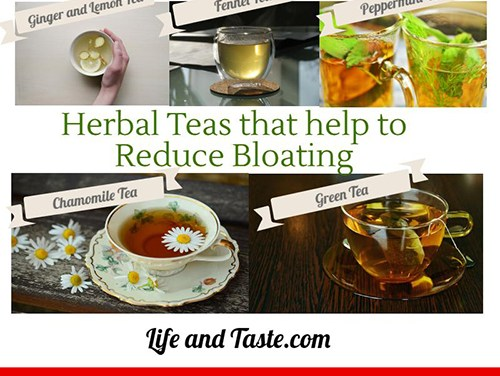 Herbal Teas that help to Reduce Bloating
