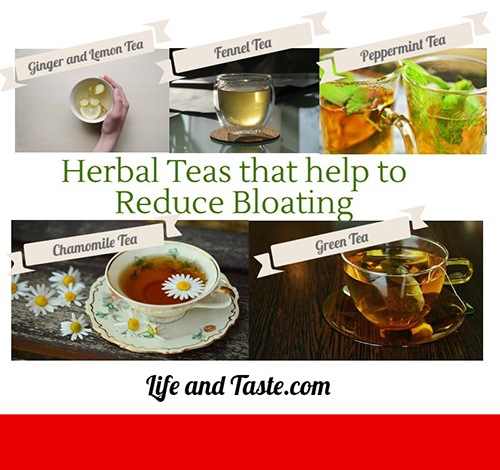teas to reduce bloating
