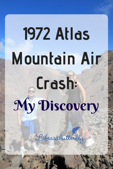 1972 Atlas Mountain Air Crash: My Discovery