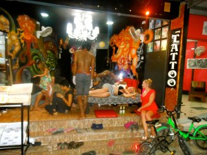 tattoo shop Thailand