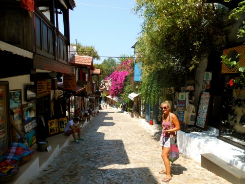 Wandering the picturesque streets of Kas