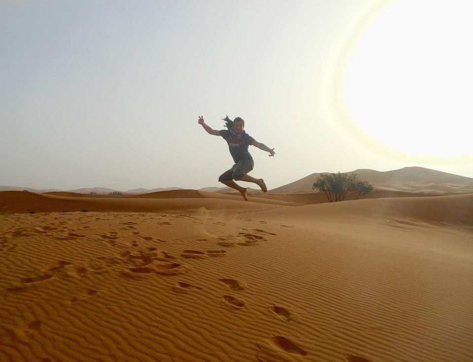 Sahara jumping