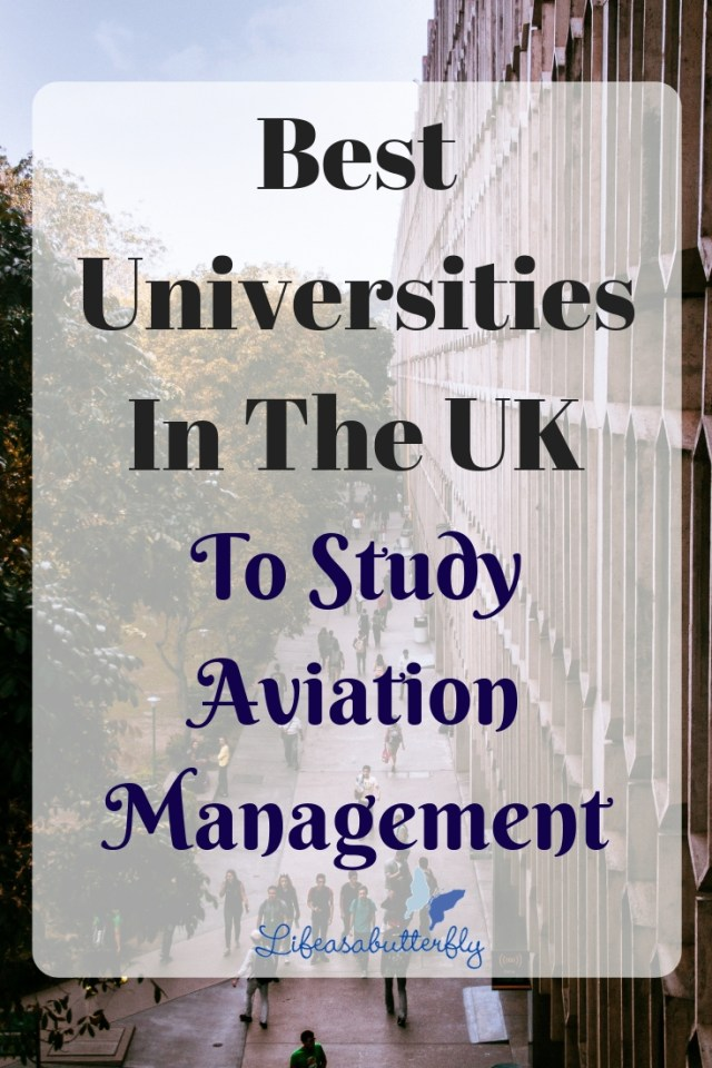 Best Universities In The UK To Study Aviation Management
