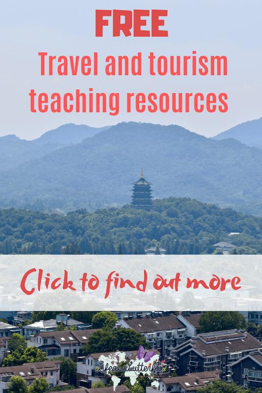 Travel and Tourism teaching resource platform