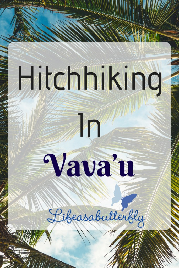 Hitchhiking in Vava'u