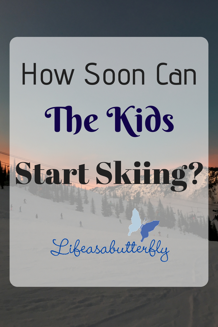 How Soon Can The Kids Start Skiing?