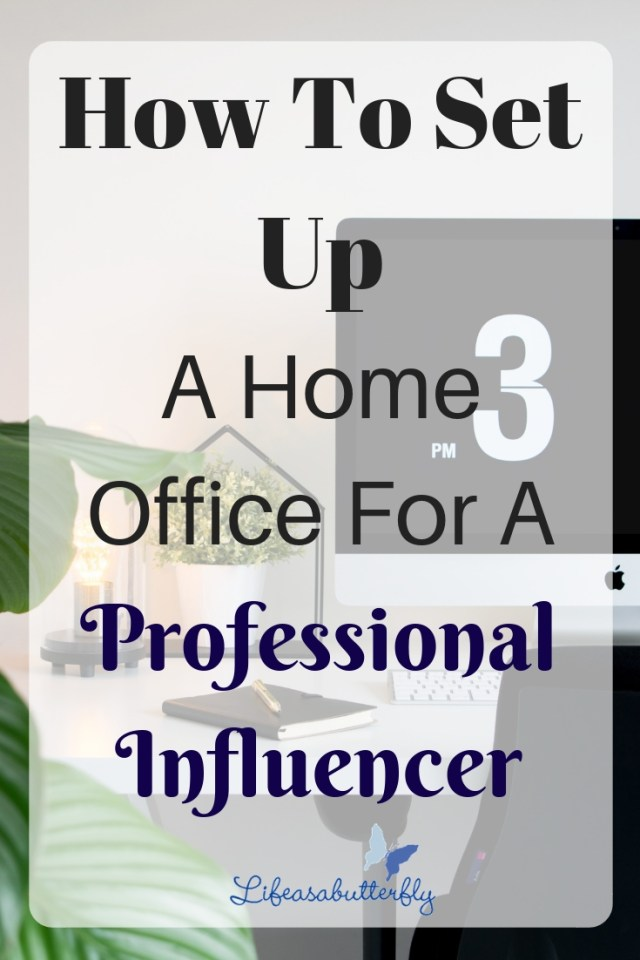 How to Set up a Home Office for a Professional Influencer