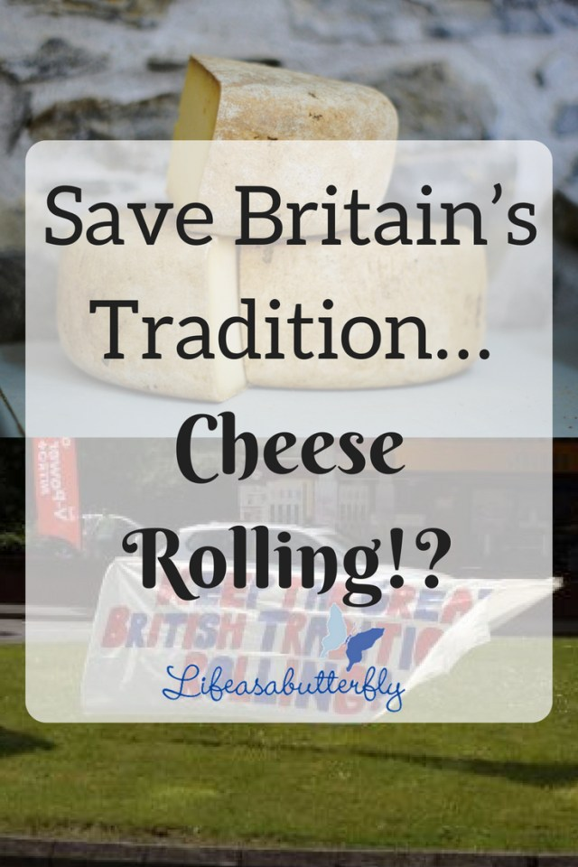 Save Britain's tradition… cheese rolling!?